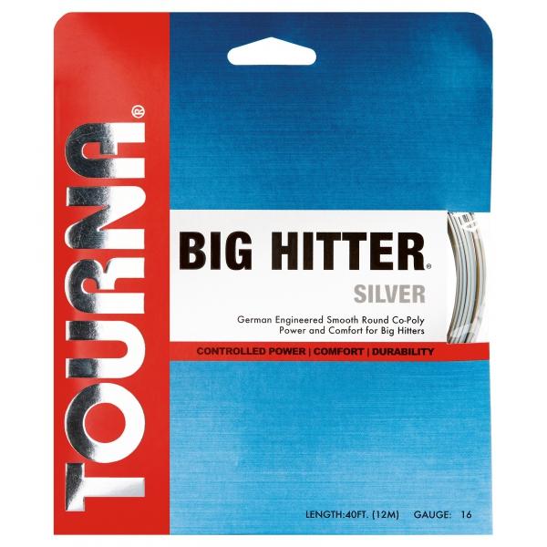 Tourna Big Hitter Silver 17g Tennis String (Set)