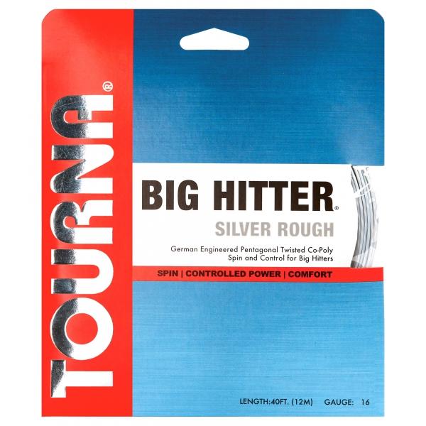 Tourna Big Hitter Silver Rough 16g Tennis String (Set)