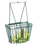 HOAG 100 Ball Basket with Lid #9604 - Tennis Ballhoppers