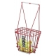 HOAG 50 Ball Basket with Lid #9601 - Tennis Ballhoppers