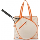 Ame & Lulu Hamptons Tennis Tour Bag (Clementine) - Women's Tennis Bags