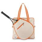 Ame & Lulu Hamptons Tennis Tour Bag (Clementine) - New Tennis Bags