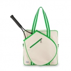 Ame & Lulu Hamptons Tennis Tour Bag (Limeade) - Tennis Tote Bags