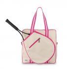 Ame & Lulu Hamptons Tennis Tour Bag (Pomegranate) - Tennis Tote Bags