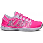 K-Swiss Women's Hypercourt Tennis Shoes (Shocking Pink/ Camo) - K-Swiss
