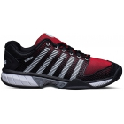 K-Swiss Men's Hypercourt Express Tennis Shoes (Black/ Red) - K-Swiss