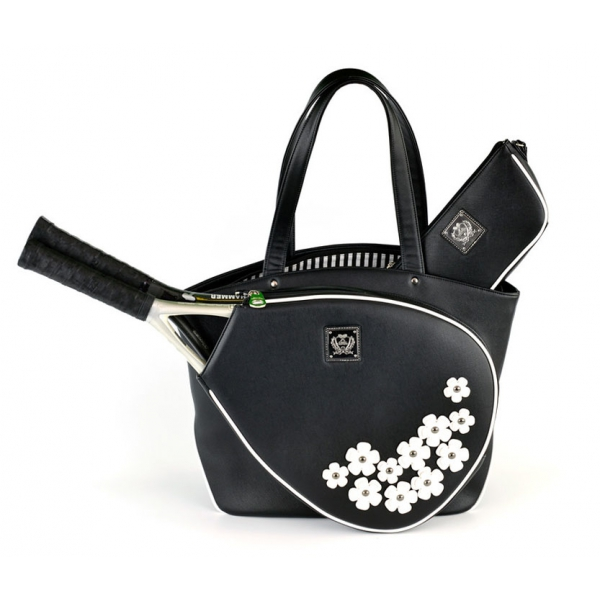 Court Couture Cassanova Tennis Bag (Sakura White)