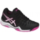 Asics Women's Gel Resolution 7 Tennis Shoes (Black/Silver/Hot Pink) - Asics Tennis Shoes