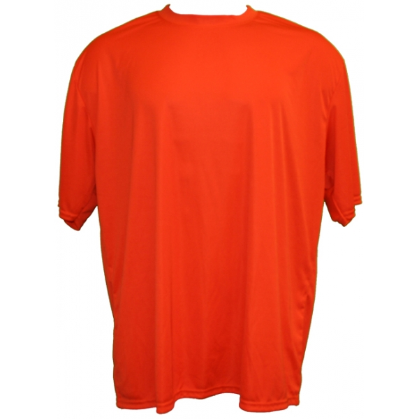A4 Youth's Performance Crew Shirt (Orange)