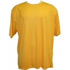 A4 Men's Performance Crew Shirt (Gold) - A4 Tennis Apparel