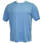 A4 Men's Performance Crew Shirt (Light Blue) - A4 Tennis Apparel