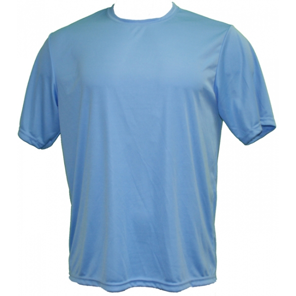 A4 Men's Performance Crew Shirt (Light Blue)