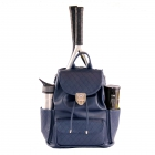 Court Couture Hampton Backpack (Navy Quilted) - Court Couture Tennis Bags