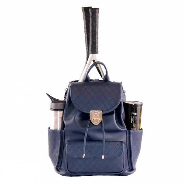 Court Couture Hampton Backpack (Navy Quilted)