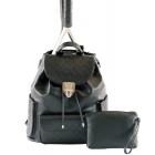 Court Couture Hampton Backpack (Black Quilted) - Court Couture
