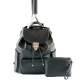 Court Couture Hampton Backpack (Black Quilted) - Designer Tennis Backpacks