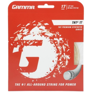 Gamma TNT2 17g Tennis String (Set)
