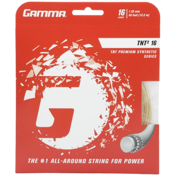 Gamma TNT2 16g Tennis String (Set)