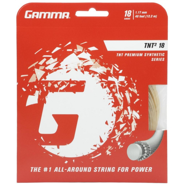 Gamma TNT2 18g Tennis String (Set)