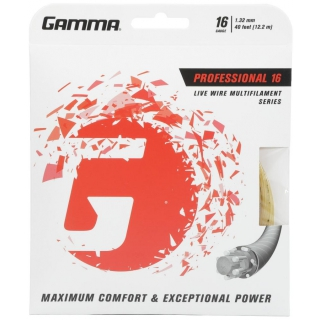 Gamma Live Wire Professional 16g Tennis String (Set)