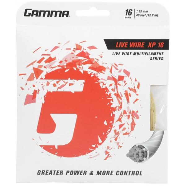Gamma Live Wire XP 16g Tennis String (Set)