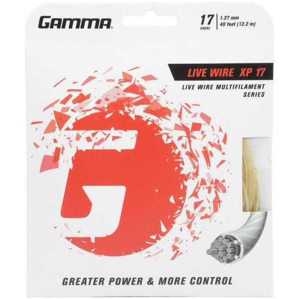 Gamma Live Wire XP 17g Tennis String (Set)