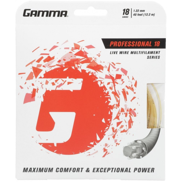 Gamma Live Wire Professional 18g Tennis String (Set)