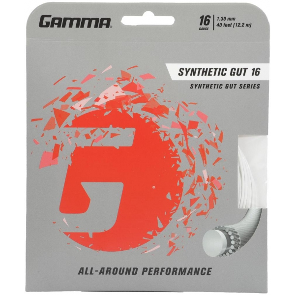 Gamma Synthetic Gut 16g Tennis String (Set)