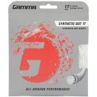 Gamma Synthetic Gut 17g Tennis String (Set) - Synthetic Gut Tennis String