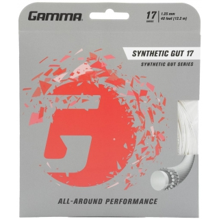 Gamma Synthetic Gut 17g Tennis String (Set)