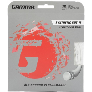Gamma Synthetic Gut 18g Tennis String (Set)