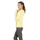 BloqUV Women's Sun Protective Full Zip Athletic Hoodie (Lemon Yellow) -