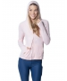 BloqUV Women's Sun Protective Full Zip Athletic Hoodie (Tickle Me Pink) - Women's Warm-Ups