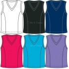 In-Between Basic V-Neck Tank (CLOSEOUT) - In-Between Women's Tops and Tanks