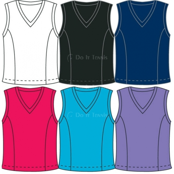 In-Between Basic V-Neck Tank 51M