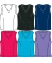 In-Between Basic V-Neck Tank 51M - In-Between Women's Tops and Tanks Tennis Apparel