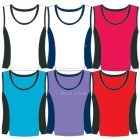 In-Between Contrast Tank (Plus Sizes) 66W - In-Between Plus Size Tennis Apparel