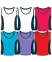 In-Between Contrast Tank (Plus Sizes) 66W (CLOSEOUT) - In-Between Tennis Apparel