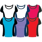 In-Between Contrast Top 65M - In-Between Women's Tops and Tanks Tennis Apparel
