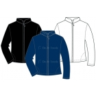 In-Between Full-Zip Jacket w/ 2 Side Pockets 79M - In-Between Jackets & Pants Tennis Apparel