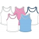 In-Between Girls Scoop-Neck Tank 63G - In-Between Junior Apparel Tennis Apparel