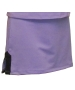 In-Between Plaket A-Line Tennis Skirt (Pur/ Blk) - In-Between Tennis Apparel