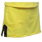 In-Between Plaket A-Line Tennis Skirt (Ylw/ Wht/ Nvy) - In-Between Tennis Apparel