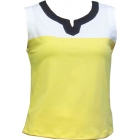 In-Between Plaket Tennis Tank (Ylw/Wht/Nvy) - In-Between Women's Tops and Tanks Tennis Apparel
