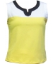 In-Between Plaket Tennis Tank (Ylw/Wht/Nvy) - In-Between Tennis Apparel