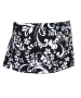 In-Between Swirl Wide-Band Tennis Skirt (Blk/ Wht) CLOSEOUT - In-Between Tennis Apparel