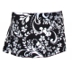 In-Between Swirl Wide-Band Tennis Skirt (Blk/ Wht) CLOSEOUT - In-Between Sale Tennis Apparel