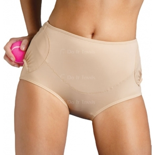 In-Between Tummy Control Court-Panties w/ 2 Pockets 40M