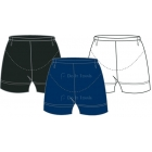In-Between Tummy Control Shorties (Plus Sizes) 14W - Women's Plus Sizes Skirts/Skorts Tennis Apparel