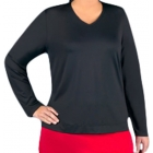 In-Between V-Neck Pullover (CLOSEOUT) - In-Between Women's Tops and Tanks